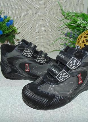 Ботинки geox 34р,ст 21.5 см.мега выбор обуви и одежды