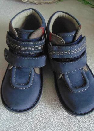 Ботинки kickers 28 р-р,по стельке 17,5 см3 фото