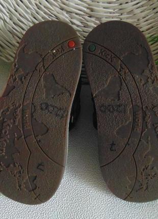 Ботинки kickers 28 р-р,по стельке 17,5 см7 фото