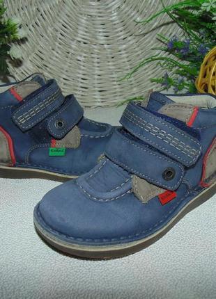 Ботинки kickers 28 р-р,по стельке 17,5 см