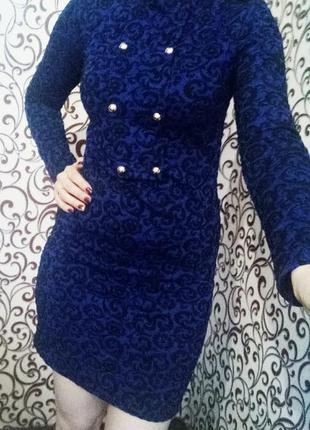 Платье ,синее платье