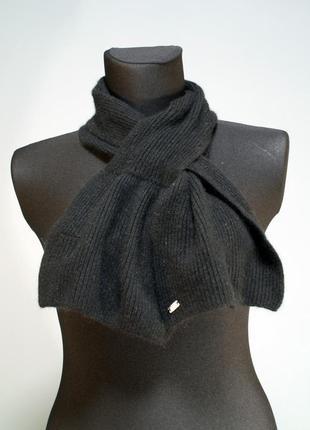 Оригинальный теплый шерстяной шарф