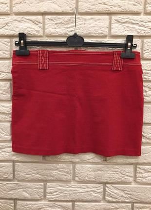 Яркая красная юбка от frooty beauty