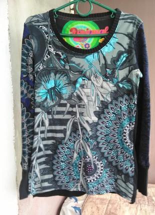Крутой свитерок/блузка  от desigual