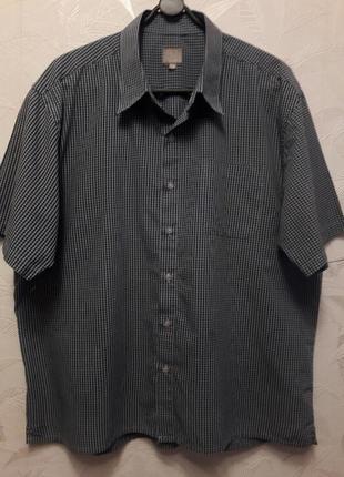 Рубашка, шведка, 54-56, хлопок,  полиэстер,  tu