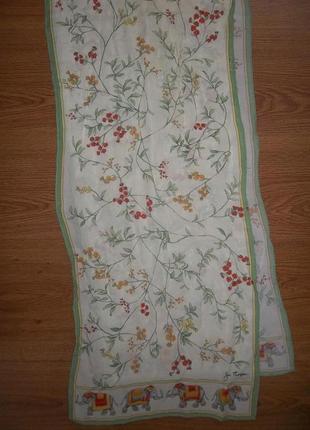 Шелковый шарф jim thompson