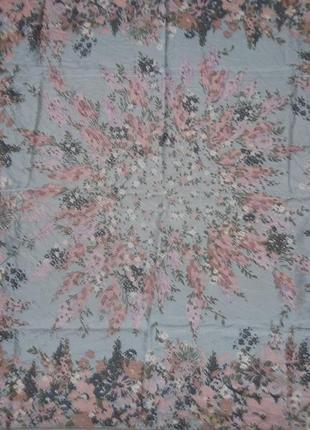 Christian dior шелковый платок винтаж