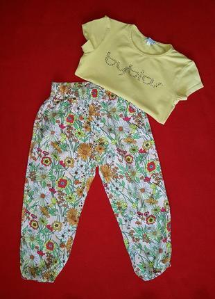 Детские хлопковые бриджи 4-5 от outfitters
