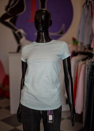 Хлопковая мятная футболка от fb sister