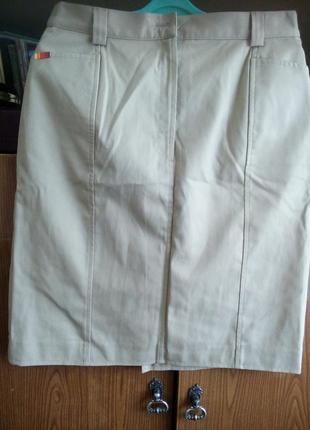 Немецкая катоновая юбка на подкладке