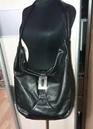 Фирменная кожаная сумка кросбоди (мешок)lg le le в идеале