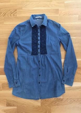 Джинсовая рубашка daniel & mayer