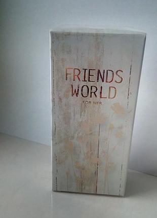 Туалетная вода friends world for her