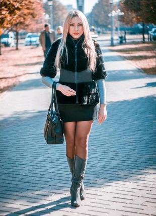 Норковая шуба шубка полушубок куртка
