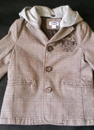 Стильный пиджак на подкладке от chicco