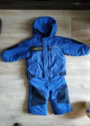 Демисезонной комбинезон columbia 82 р куртка+ полукомбинезон