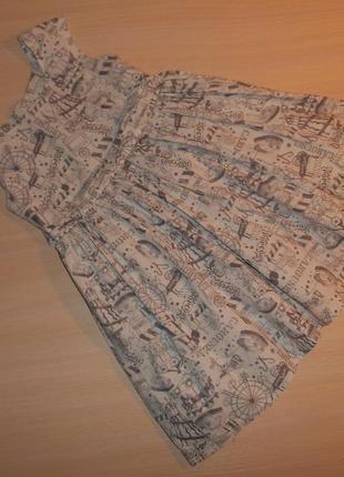 Нарядное пышное платье, сарафан emma bunton 5-6 лет, 110-116 см, оригинал
