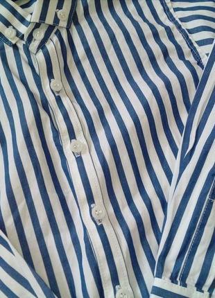 Нарядная рубашка фирмы next 4-5 лет4 фото