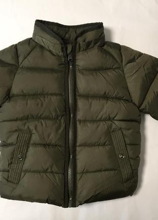 "Куртка на полтора-два года, рост. 92 см, ""zara baby boy"", сша"