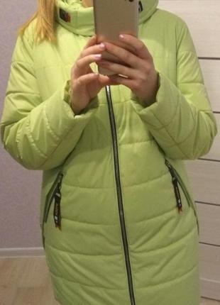 Куртка на термоподкладке,56 размер