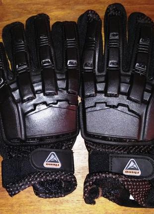 Защитные перчатки rhino., мото, вело