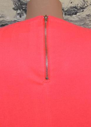 Коралловая кофточка  в неоновом тоне  размер s4 фото