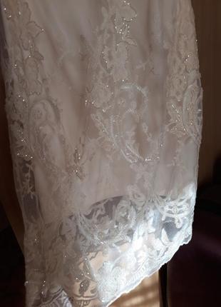 Платье со стеклярусом swarovski
