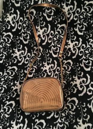 Модая золотая сумка от suzy smith!