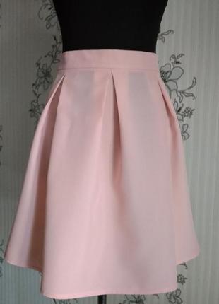 Новая пудровая нежно-розовая юбочка разные размеры и цвета.