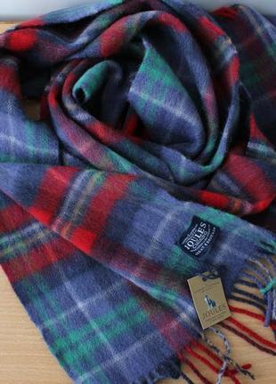 Роскошный шерстяной шарф