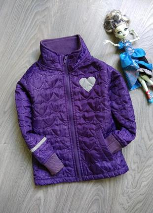 104р стеганная термо куртка ветровка