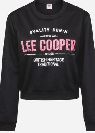 Lee cooper свитшот на флисе размер m, l