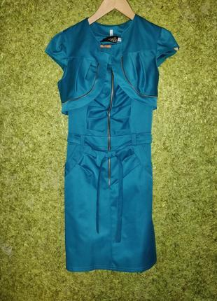 Платье для девочки (сарафан+балеро)