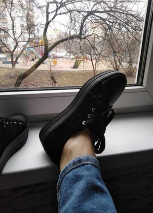 Обувь слипоны, криперы весна кожа и замша новые