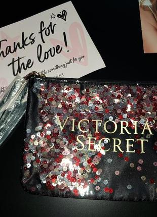 Косметичка виктория сикрет victoria's secret