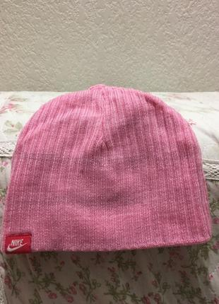 Весенняя шапочка nike 9-12 месяцев