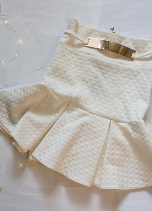 Стильная юбка-годе