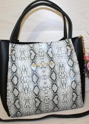 fa3dde183b2f Женские сумки под рептилию 2019 - купить недорого вещи в интернет ...