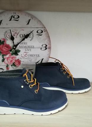 Кожаные ботинки ecco jayden , 35 размер