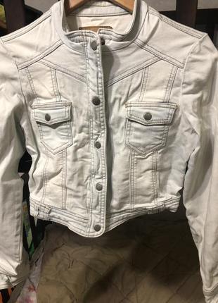 Стильная короткая куртка amisu