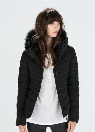 Куртка  с мехом.