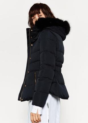 Куртка  с мехом.2 фото