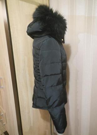 Куртка  с мехом.4 фото