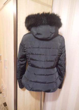 Куртка  с мехом.5 фото