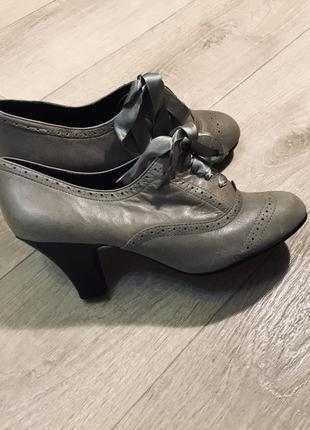 Кожаные туфли «new look»