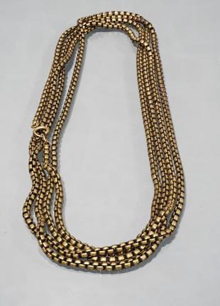 Оригинальное ожерелье от бренда cos разм. one size