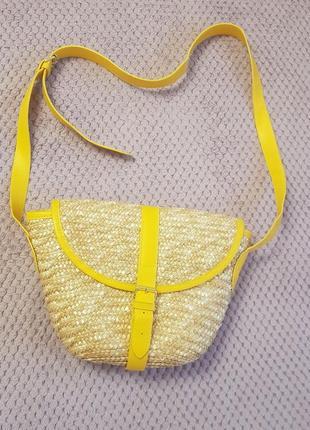 Тренд 2019💫 плетеная сумка