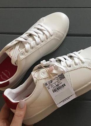 Кеды кроссовки pull&bear оригинал белые