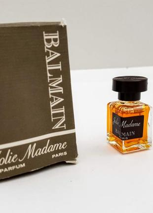 Винтаж pierre balmain jolie madame, 4 ml. 1975 год. франция.