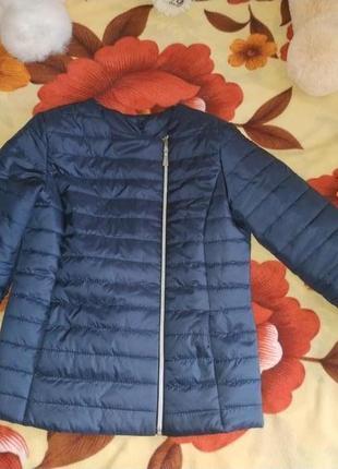 Куртка на весну/куртка жіноча/куртка вінниця/куртка коротка / куртка синя